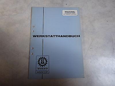 Original Werkstatthandbuch Volvo Bm Zur Drehstromausrüstung In Verschiedenen AusfüHrungen Und Spezifikationen FüR Ihre Auswahl ErhäLtlich Business & Industrie Literatur