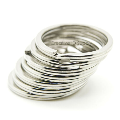 500 1000 2500 pcs Metal Key Rings Split Rings Heavy Duty Keychain 30mm