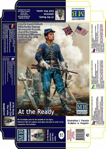 MASTER BOX™ 35197 At the Ready Union Cavarly Quartermaster Sergeant in 1:35
