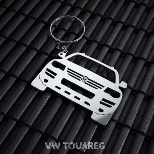 VW Touareg Stainless Steel Keychain