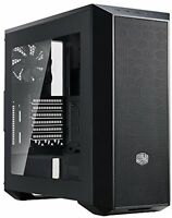 Masterbox 5 Black Mid-tower With Internal Configuration, E-atx Support, And Ssd