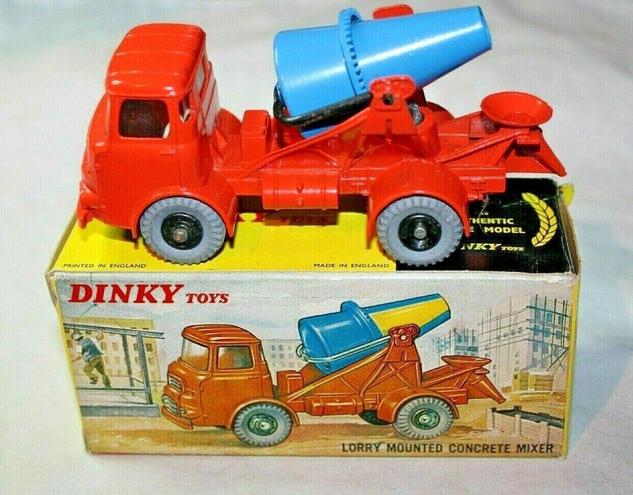 DINKY 960 Albion CAMION montato Betoniera, condizione superba nella scatola originale