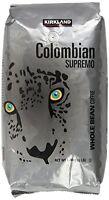 Kirkland Signature Colombian Supremo Whole Bean Coffee, 3 Pound, New, Free Shipp on sale