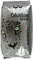 Kirkland Signature Colombian Supremo Whole Bean Coffee, 3 Pound, New, Free Shipp on sale