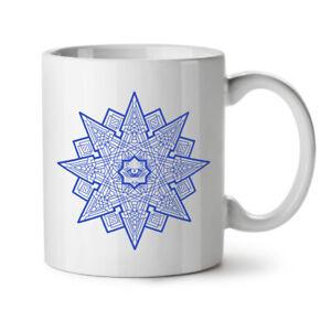 Mandala Star NEW White Tea Coffee Mug 11 oz | Wellcoda