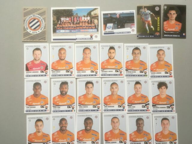 panini foot 2013/2014  equipe MONTPELLIER COMPLETE