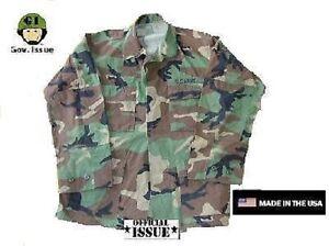 Diszipliniert Us Army Genuine Issue Bdu Feldjacke Jacke Wcp Woodland Camouflage Large X Short Funsport