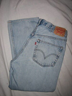 Men's Clothing Levi's 505 Regular Fit Blue Jeans Size 38x30 Measures 36x27 An Indispensable Sovereign Remedy For Home
