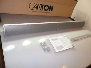Canton-CD-90-Silver-3-Channel-LCR-Soundbar