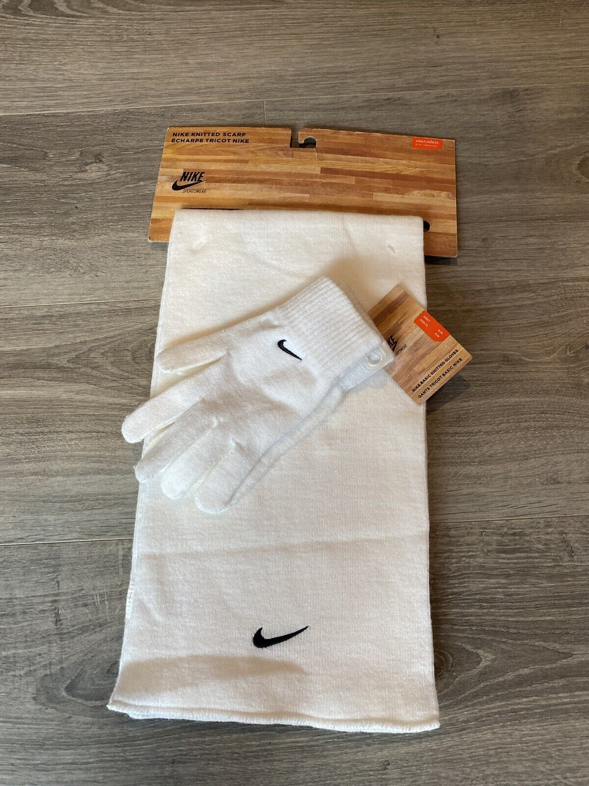 Nike Scarf And Gloves Set