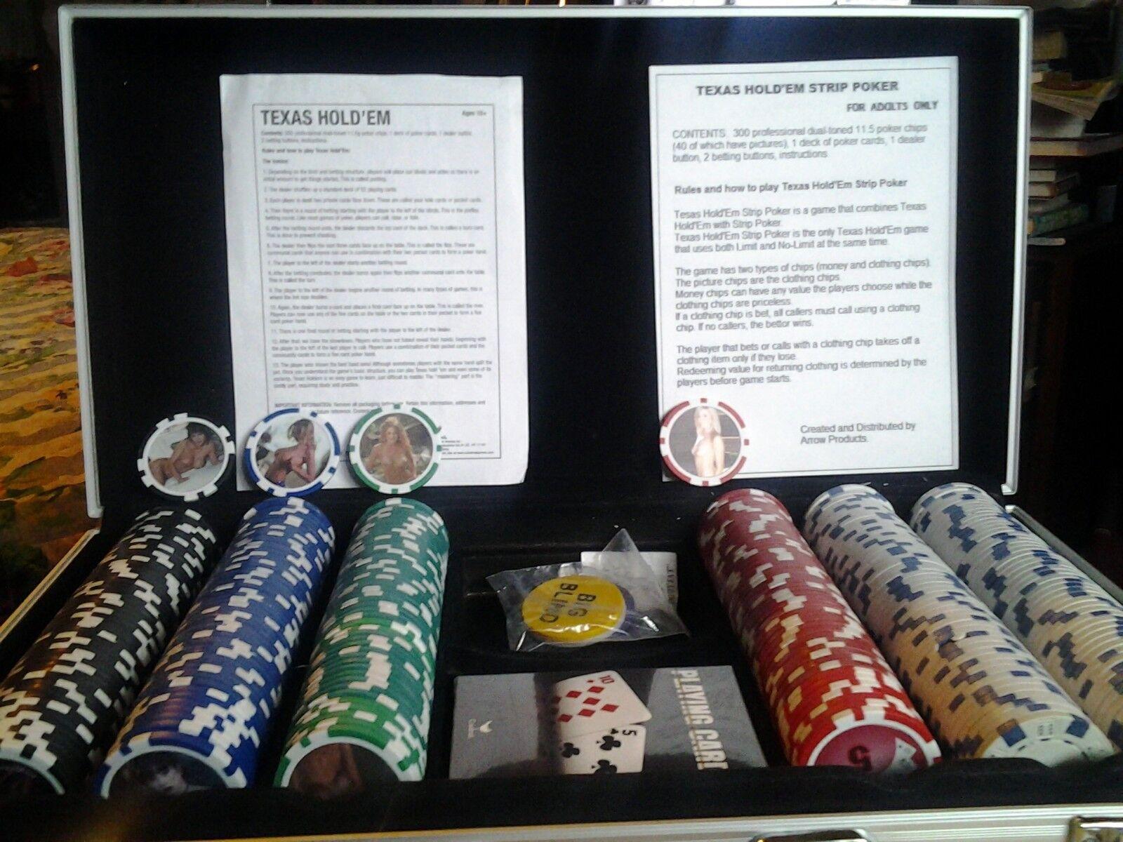 Juego de Tarjetas de Poker Tira