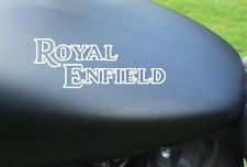 2 x ROYAL ENFIELD TANK  Vinyl Sticker Decals