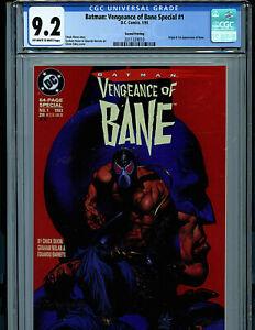 Batman-Vengeance-of-Bane-1-CGC-9-2-NM-2nd-Print-1993-1st-Bane-DC-Comics-K15