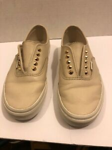 vans authentic beige