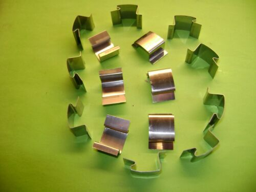 ELITE GREENHOUSES, 50 GREENHOUSE G GLASS GLAZING CLIPS USED IN SIMPLICITY