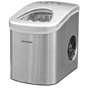 Frigidaire-Countertop-Stainless-steel-Ice-Maker-26-lbs-of-Ice-Per-Day