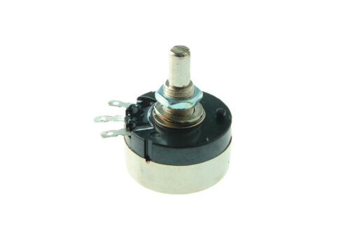 5Pcs RV30YN20S//B102 1K ohm 3W Round Shaft Carbon Film Rotary Taper Potentiometer