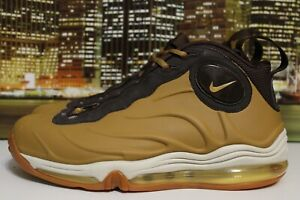 7a27aa58c28 Nike Total Air Foamposite Max Duncan Wheat Flax 2005 Basketball ...