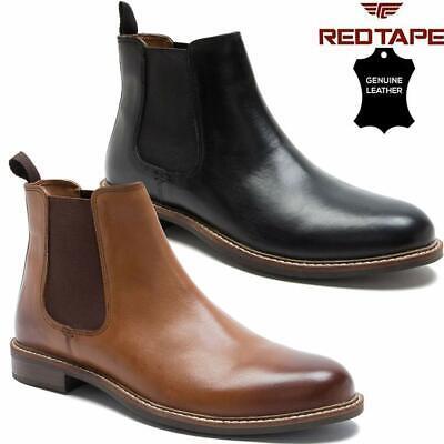 mens leather chelsea boots dealer ankle smart formal