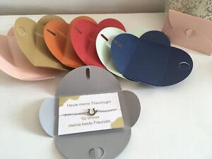 Details Zu Trauzeugin Geschenk Armband Hochzeit Brautjungfer Beste Freundin Braut Hufeisen