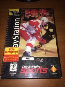 NHL-FaceOff-Sony-PlayStation-1-1995-PS1-Long-Box