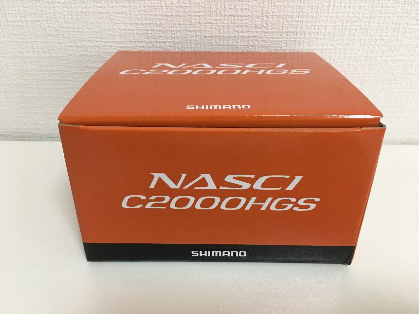 Shimano Cocherete 16 Nasci C2000HGS Japón Importación