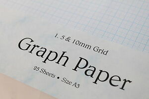 A3-SINGLE-OR-DOUBLE-SIDED-120GSM-SMOOTH-GRAPH-PAPER-1mm-5mm-10mm-SQUARED-GRID
