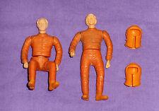vintage SPACE:1999 action figures lot x2 w helmets from Mattel Eagle Transport