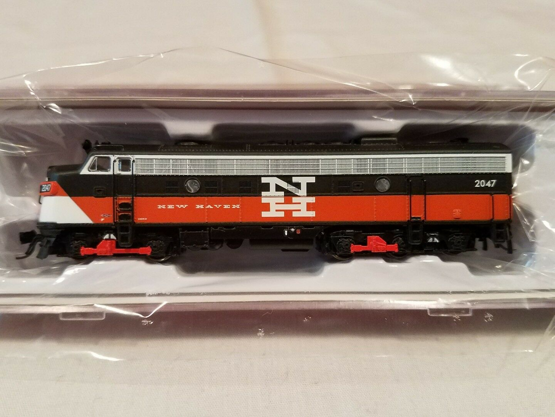 N SCALE RAPIDO TRAINS 15023 EMD FL9 NH EDER-5A  2047 DC DCC READY NEW