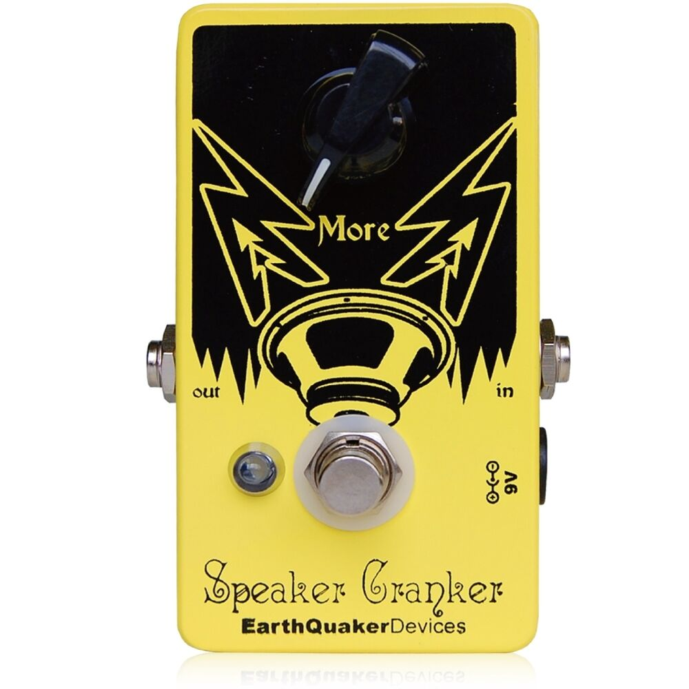 EarthQuaker Devices Speaker Cranker V2 Overdrive Guitar Bass Effect Pedal - New