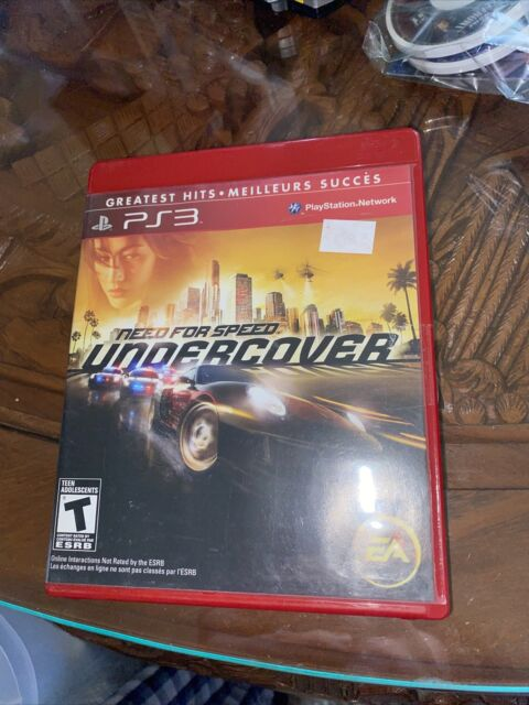 Need for Speed: Undercover Ps3 TESTED AND CIB