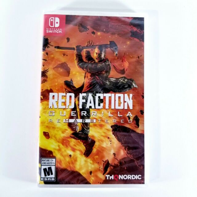 Red Faction Guerrilla Re-Mars-Tered Switch (Nintendo Switch) FACTORY SEALED