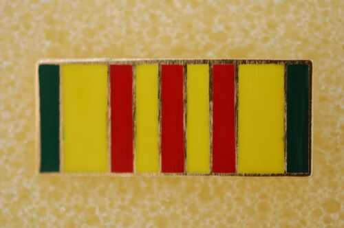 US USA Vietnam Service Ribbon Military Hat Lapel Pin