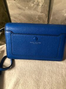 a26863937fe NWT MARC JACOBS Empire City Leather Wallet Cards Flap Crossbody $260 ...