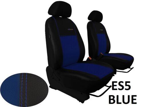 """2 Mk1 2009-2013 Eco Cuero /""""exclusivo/"""" Tailored Fundas De Asiento Para NISSAN QASHQAI"""