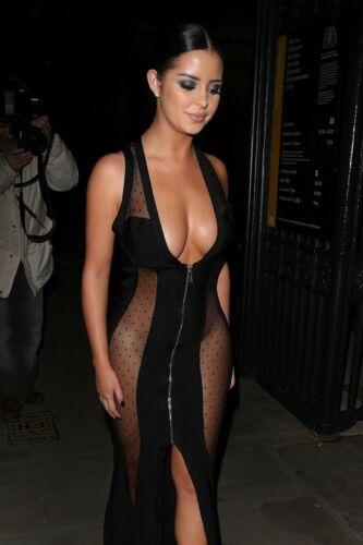 en S et Robe Robe transparente clubwear nude moulante maille avec fermeture de robe bal ᄄᆭclair kXuPiTwZO