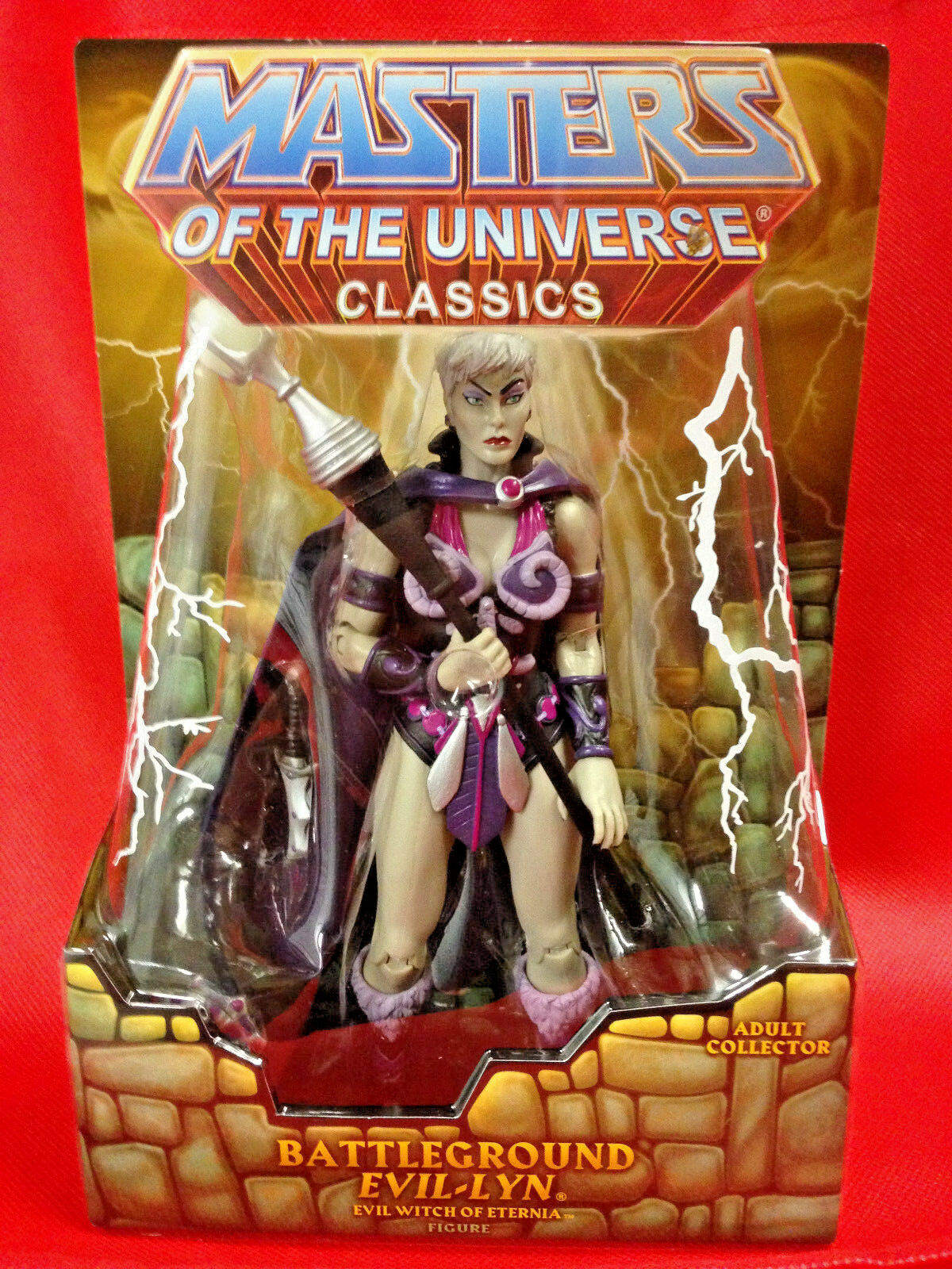 BATTLEGROUND EVIL-LYN Masters of the Universe Classics Figure MOTU Nuovo Sealed