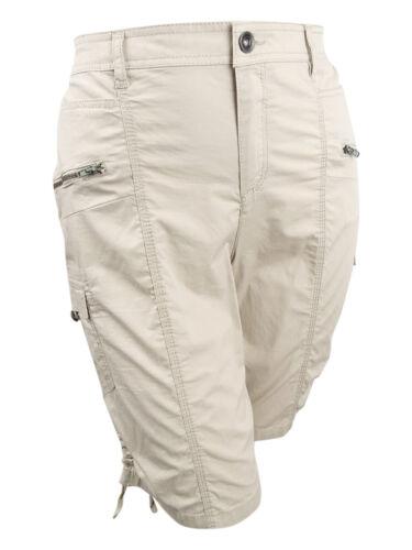 Women/'s Plus Size Zippered Cargo Shorts Style /& Co