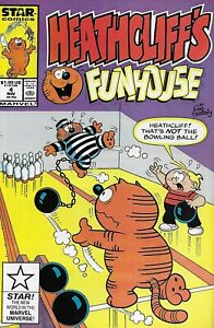 Heathcliffe-039-s-Funhouse-Comic-Issue-4-Copper-Age-First-Print-1987-Gallagher-Post