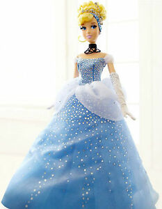 Disney-Store-Limited-Edition-Doll-Cinderella-Mint-condition-NEW-beautiful