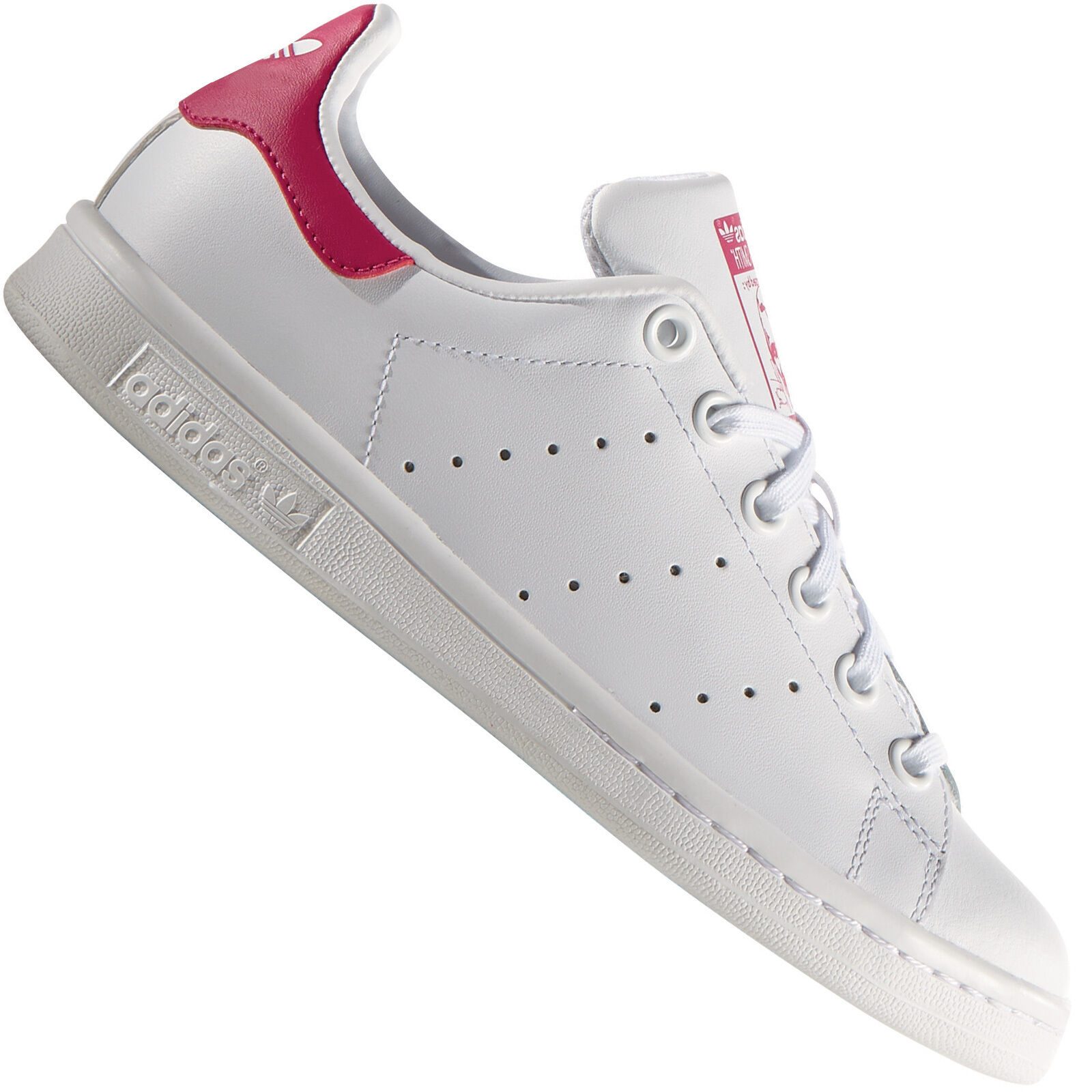 adidas Originals Stan Smith Y women's sneakers B32703 White/Pink Sneakers Shoes