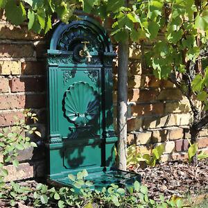 Details zu Standbrunnen Garten Wasser Zapfstelle Design Antik Wasserstelle  Wand Wasserhahn
