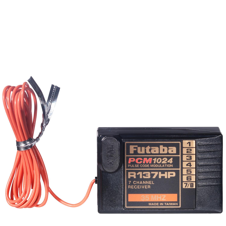 7 canali Ricevitore R-137 HP PCM 35 Mhz F 0915 Futaba r137hp 35 225002