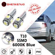 PREMIUM VAUXHALL OPEL CORSA D VXR 06-14 Xenon White LED Number Plate Light Bulbs