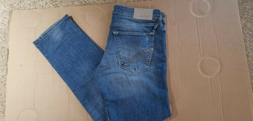 """38/""""W X 32/""""L COST £100.00 BRAND NEW WITH ALL TAGS MORRIS STRAIGHT GAS JEANS"""
