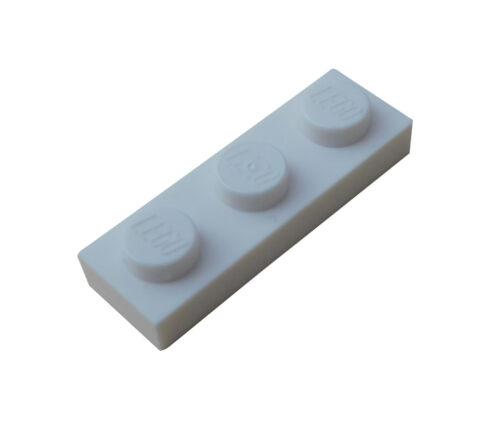 Lego 50x Platte 1x3 weiss 3623 Neu weiße Platten Bauplatte City Basics 1 x 3