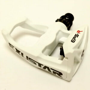 25fe908ec71 Exustar Keo Compatible Cycling Pedals - E-PR100 - White - RRP £50 ...
