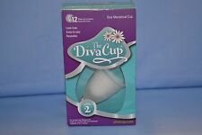 The Diva Cup Model 2 Menstrual Cup, New Factory Sealed