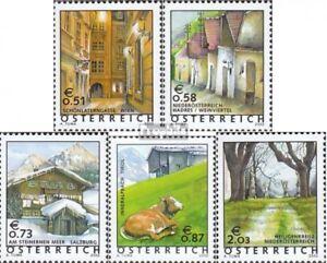 Osterreich-2363-2367-kompl-Ausg-postfrisch-2002-Freimarken