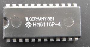 2 X Hm6116p-4, Lp-3 Ou, Ou 3-6116p-5 2048 X 8bit High Speed Cmos Static Ram 24pin-afficher Le Titre D'origine